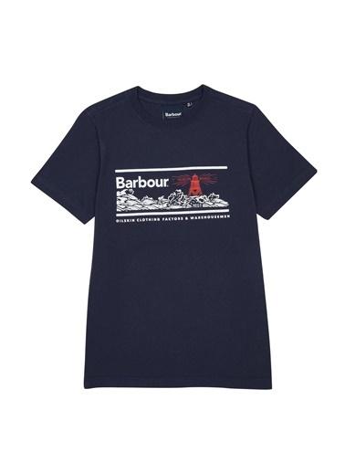 Barbour Erkek Çocuk Riley T-Shirt Ny91 Navy Lacivert